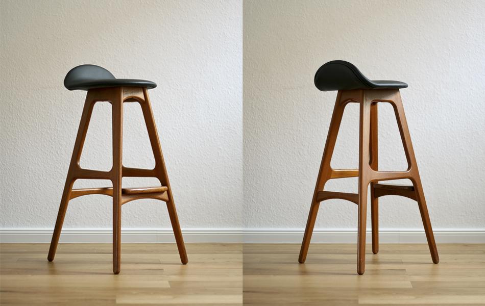 Barhocker_Teak_Leder_Leather_bar_stool_©_Die_GestaltungsWerkstatt_1