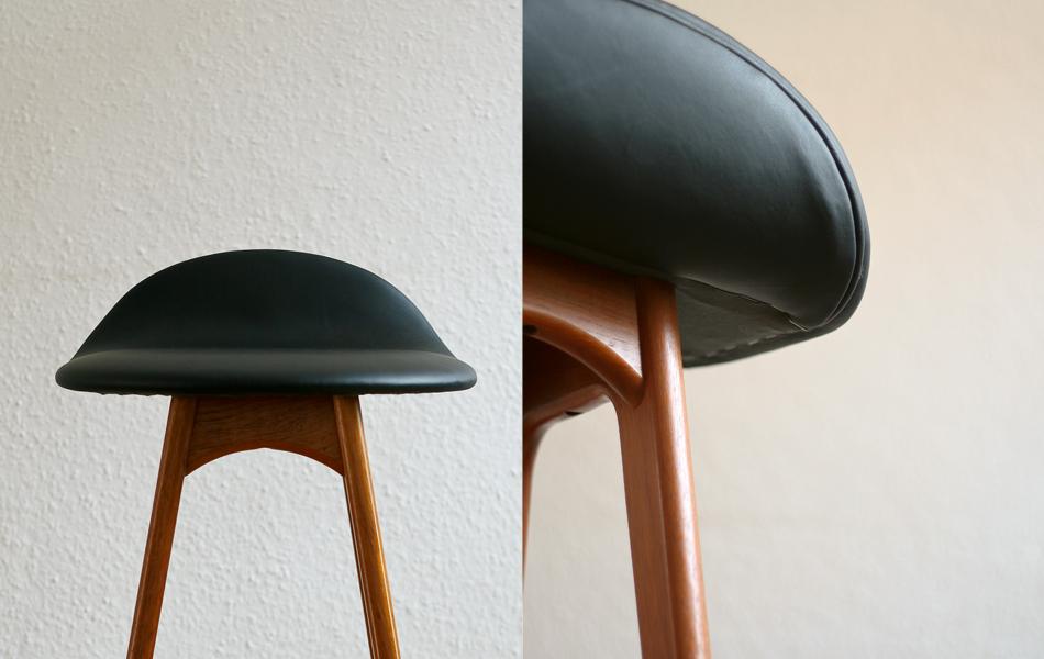 Barhocker_Teak_Leder_Leather_bar_stool_©_Die_GestaltungsWerkstatt_2