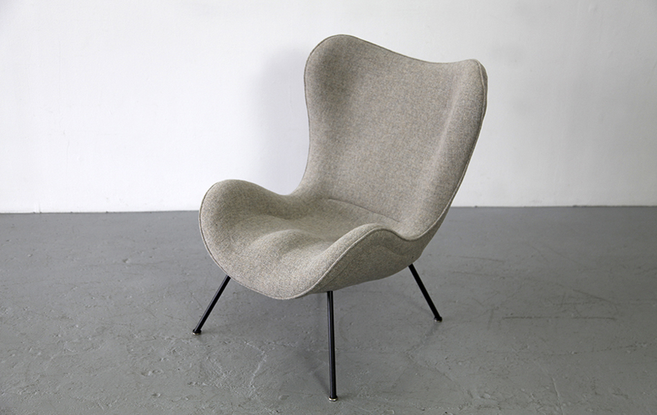 Madame_Lounge_Chair_Sessel_1950_Fritz_Neth_Kvadrat_Cream_Beige_©_Die_GestaltungsWerkstatt_2