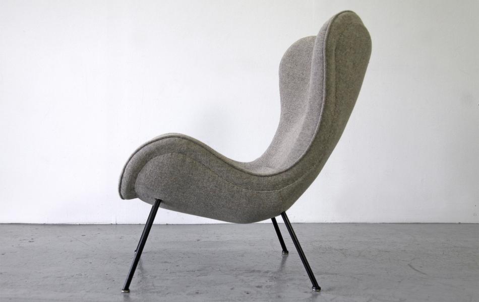 die gestaltungswerkstatt madame lounge chair sand. Black Bedroom Furniture Sets. Home Design Ideas