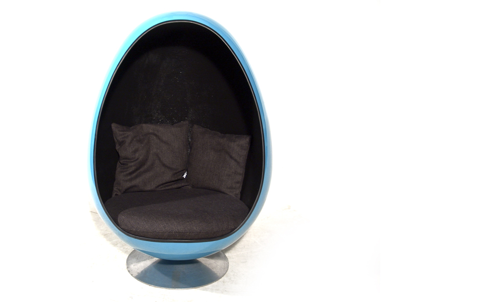 die gestaltungswerkstatt ovalia egg chair. Black Bedroom Furniture Sets. Home Design Ideas