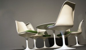 Tulip Chair – Sitzgruppe